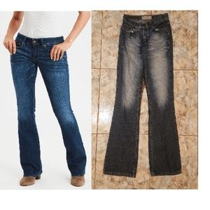 Women's American Eagle Outfitters Jeans Boot Cut 6